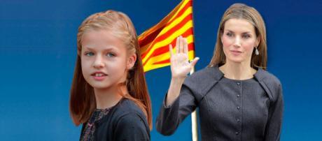 Reina Letizia y princesa Leonor en imagen