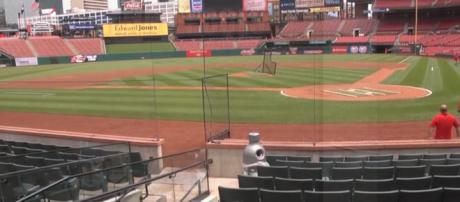 The calm before the storm as Opening Day approaches. - [Image via ehowhome / YouTube screencap]