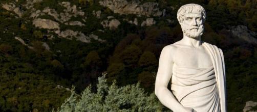 Escultura de Aristóteles.Public Domain.