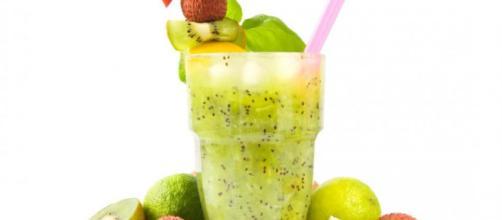 Los cócteles verdes limpian el cuerpo de toxinas.