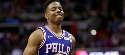 Markelle Fultz en tenue ce soir face à Denver | Basket USA - basketusa.com