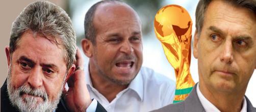 Previsões do Vidente Carlinhos sobre as eleições e a Copa do Mundo.