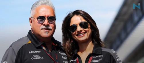 Vijay Mallya and Pinki likely to marry. Phot -( Image credit-Nyoooz TV-Youtube.com)