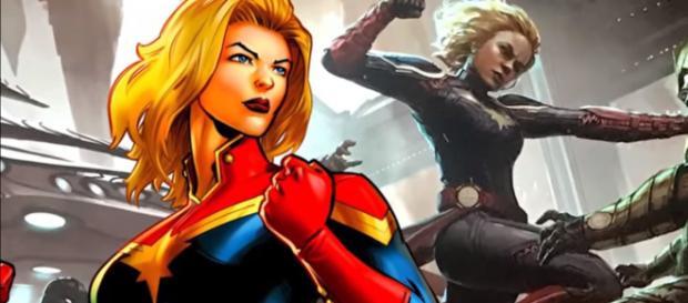 Brie Larson will play the Marvel Studios' 2019 titular film 'Captain Marvel.' [Image via Screen Rant/YouTube screencap]