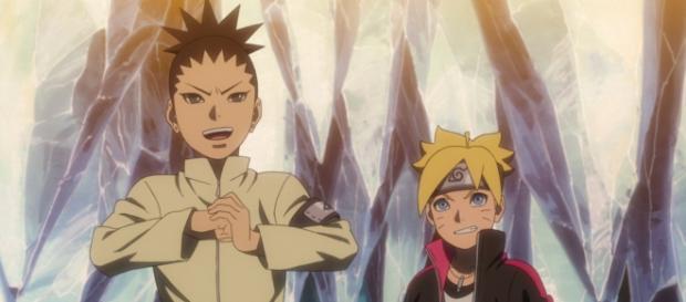 Sarada Uchiha, la hija de Sasuke, se encuentra luchando contra Buntan Kurosak.