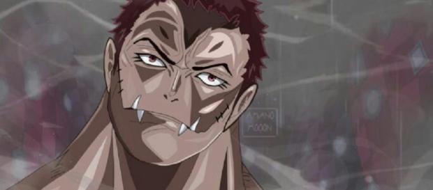 Katakuri es el miembro de Big Mom Pirates y es uno de los tres Sweet Commanders