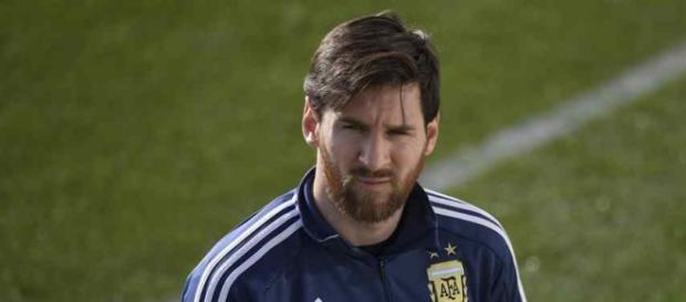 Leo Messi estava desolado após partida da seleção