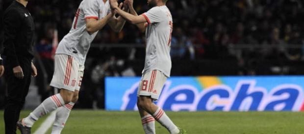 Marcos Alonso debuta con España
