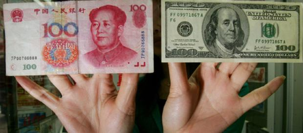 China could end the US dollar with the petro-yuan. [Image credit: djtrumpnetwork SOsos via Flickr]