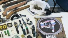 Cinco integrantes do tráfico de drogas são mortos pela polícia; confira