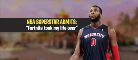 "Andre Drummond reveals he's addicted to ""Fortnite Battle Royale."" Image Credit: Own work"
