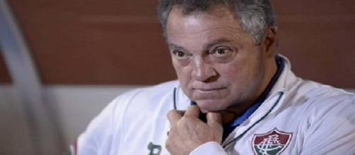 Abel não divulgou escalação para semifinal do Carioca (Foto: Reprodução/Globoesporte)