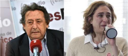 Alfonso Ussía y Ada Colau en imagen