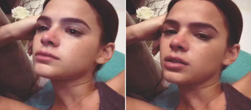 Bruna Marquezine chora ao ver série - Reprodução/Instagram