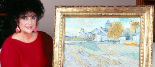 Elizabeth Taylor art collection of Van Gogh, Pisarro and Degas