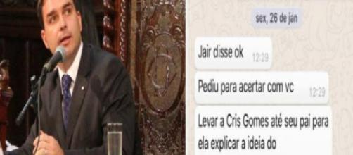 Filho de Jair Bolsonaro dá resposta surpreendente para membros do Netflix