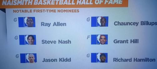 Grant Hill, Steve Nash, and Jason Kidd all make the HOF on their first try [Image via ChroniclesOfJudah 144 / YouTube Screencap]