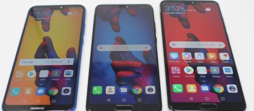 Huawei P20 Pro, P20 y P20 Lite.
