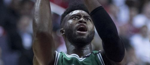 Jaylen Brown leads the Celtics to game winning shot. [ image source: Keith Allison/Wikimedia Commons ]