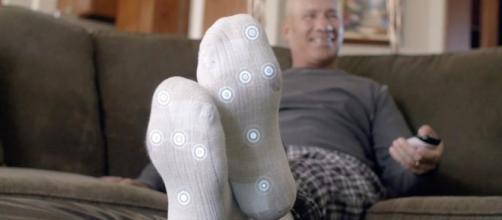 Los calcetines tienen una aplicación que proporcionará notificaciones y apoyo prioritario para los diabéticos.