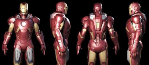 Los trajes de Iron Man son muy llamativos para los fanáticos de Marvel.