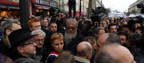 Marche blanche pour Mireille Knoll : Mélenchon et Le Pen chahutés ... - sudouest.fr