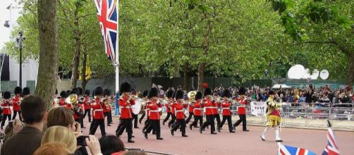 The Band of the Irish Guards (Image credit – Brian Harrington Spier, Wikimedia Commons)
