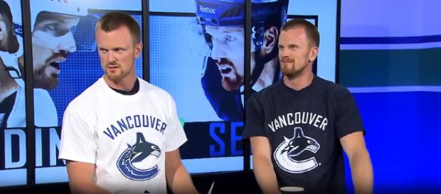 Daniel and Henrik Sedin are retiring after this season - image - Canucks / YouTube