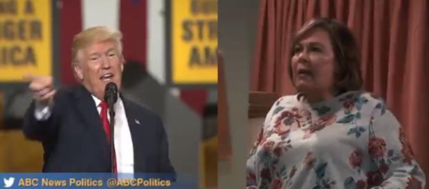 Donald Trump, Roseanne, via Twitter