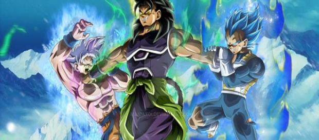 Imagen de Yamoshi, Goku y Vegeta