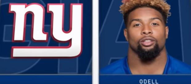 Odell Beckham is now telling LA Rams players he wants in on a trade out of New York [Image via CBS Sports / YouTube Screencap]