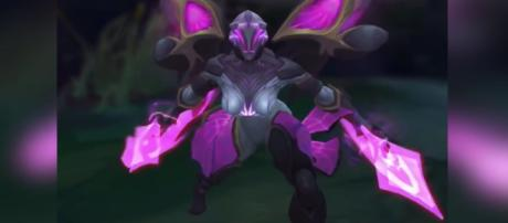 Kai'Sa is only one of the new reveals 'League of Legends' has worked on. [GrimlyGaming/Youtube screencap]