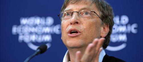 Bill Gates at the 2008 World Economic Forum [Image Credit: Techit/Commons.wikimedia.org]