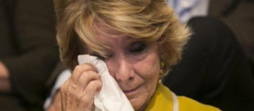 Esperanza Aguirre acusada de corrupción