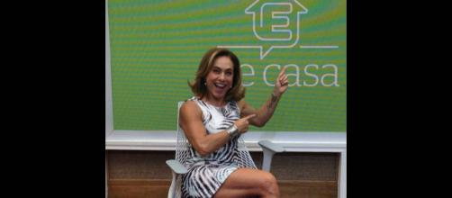 Há alguns dias, Cissa Guimarães impressionou os telespectadores com a sua boa forma!