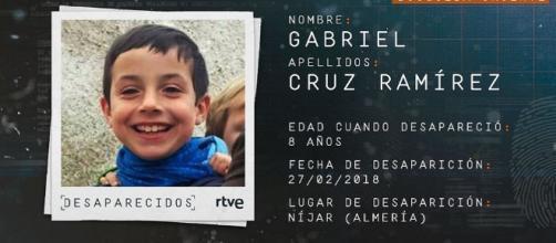Imagen emitida por RTVE de Gabriel Cruz