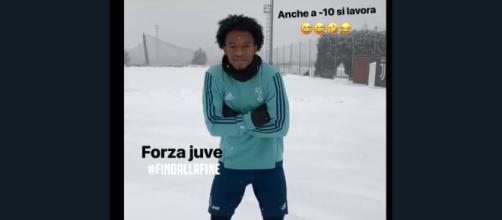 Juventus, Cuadrado al lavoro a Vinovo