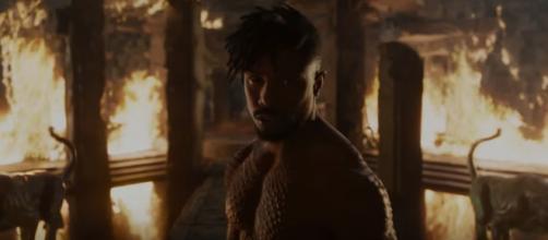 Michael B. Jordan as Erik Killmonger in Marvel's Black Panther [Marvel Entertainment/Youtube screencap]
