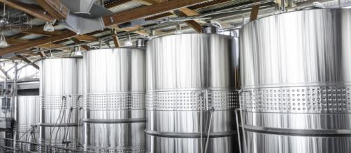 Stainless Steel Wine Drums at Jackson Triggs winery. -— (Image Credit: 'Math' Stock Up/Youtube)
