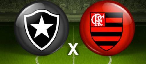 Torcedores de Flamengo e Botafogo já estão prontos para o grande duelo