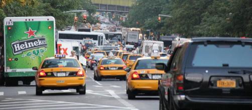 Traffic in New York City (Image credit – Raidarmax, Wikimedia Commons)