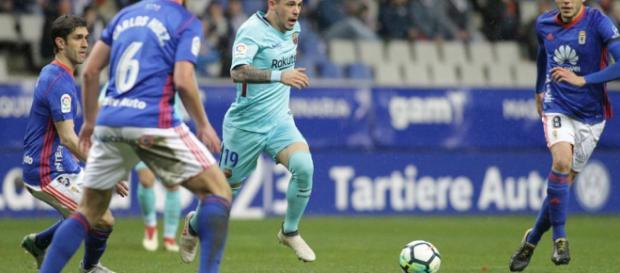 Empate del Real Oviedo ante el Barcelona B. Foto: mundodeportivo.com