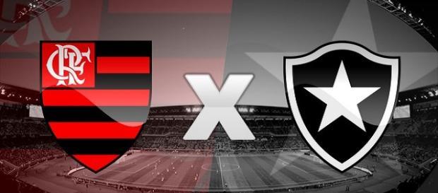 Flamengo e Botafogo se enfrentam ao vivo em partida válida pela Taça Rio.(foto reprodução)