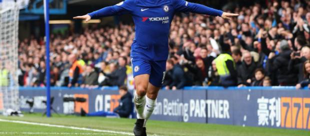 Hazard quiere llegar al Real Madrid