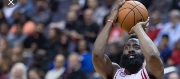 James Harden has helped guide the Rockets to 15 straight wins. (Image Credit: Keith Allison/Flickr)