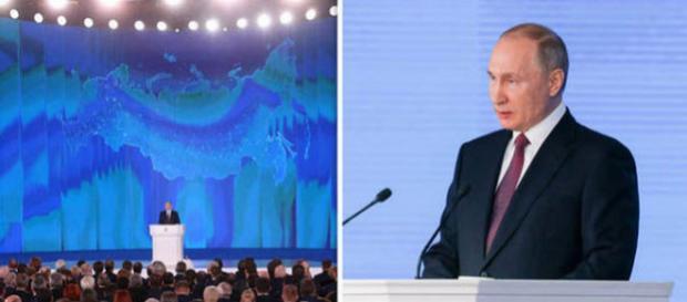 Vladimir Putin a declarat că Rusia a dezvoltat o nouă rachetă intercontinentală hipersonică - Foto: Daily Express (Getty Images)
