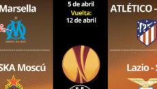 Atlético de Madrid recibe al Sporting de Lisboa en la UEFA Europa League