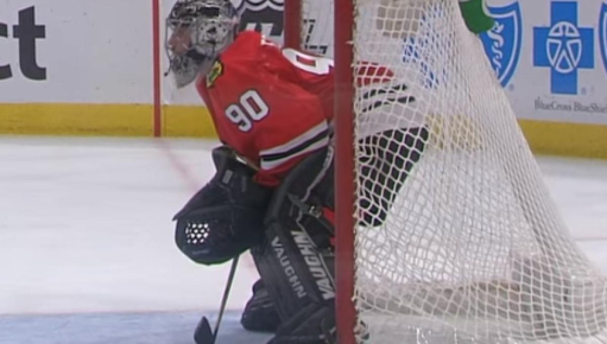 A 36 Year Old Accountant Was The Winning Goalie For Chicago Last Night
