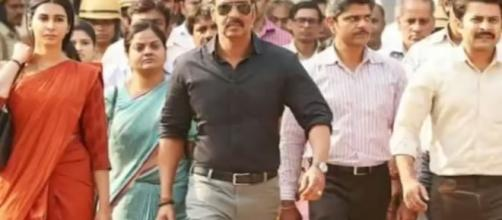 Ajay Devgun in 'Raid'. Photo-( image credit- Bolly360- Youtube.com)