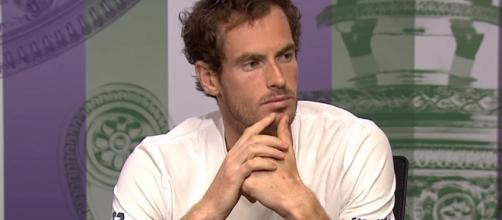 Andy Murray hasn't played an official match since the 2017 Wimbledon. Photo: screenshot via Wimbledon channel on YouTube